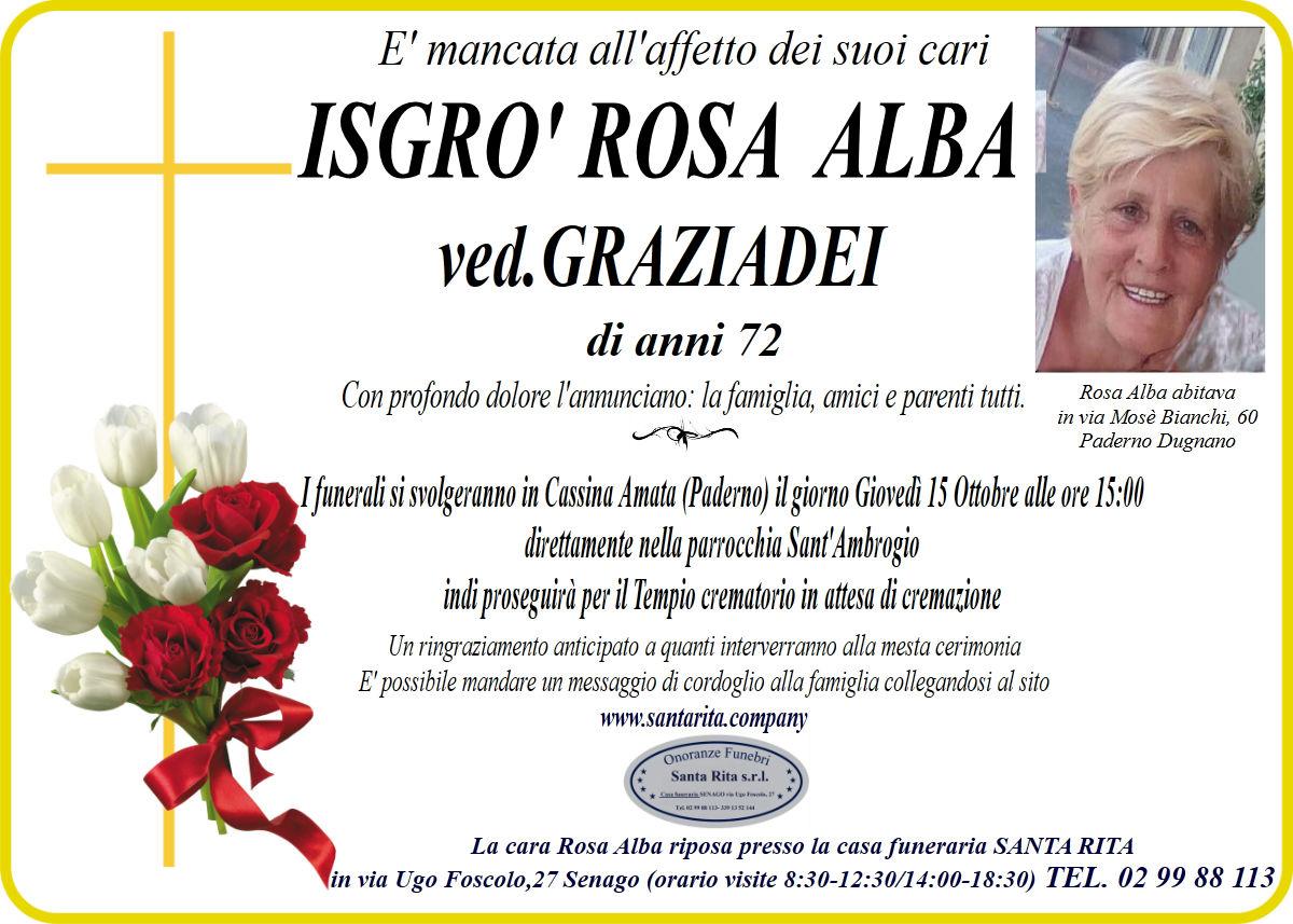 ROSA ALBA ISGRO