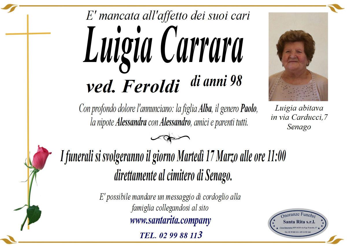 LUIGIA CARRARA