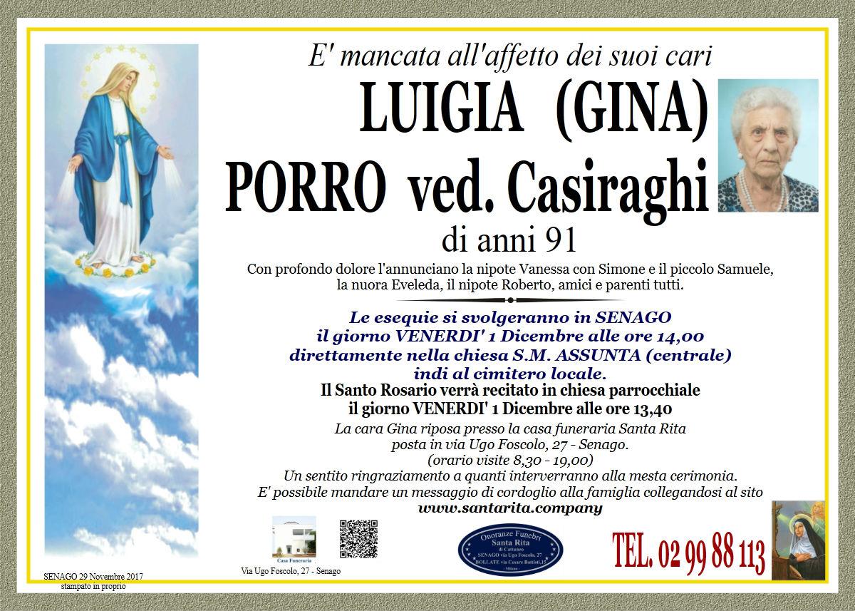 Luigia (Gina) Porro