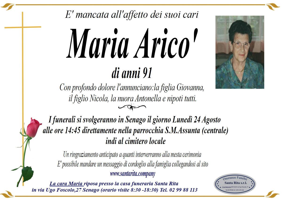 MARIA ARICO