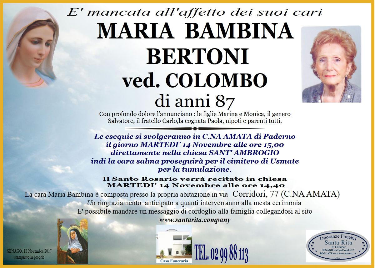 Maria Bambina Bertoni