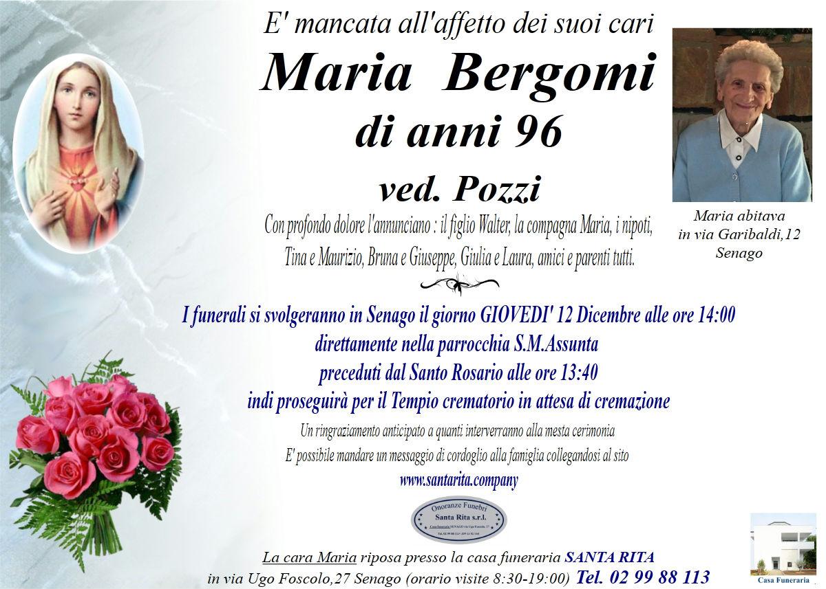MARIA BERGOMI