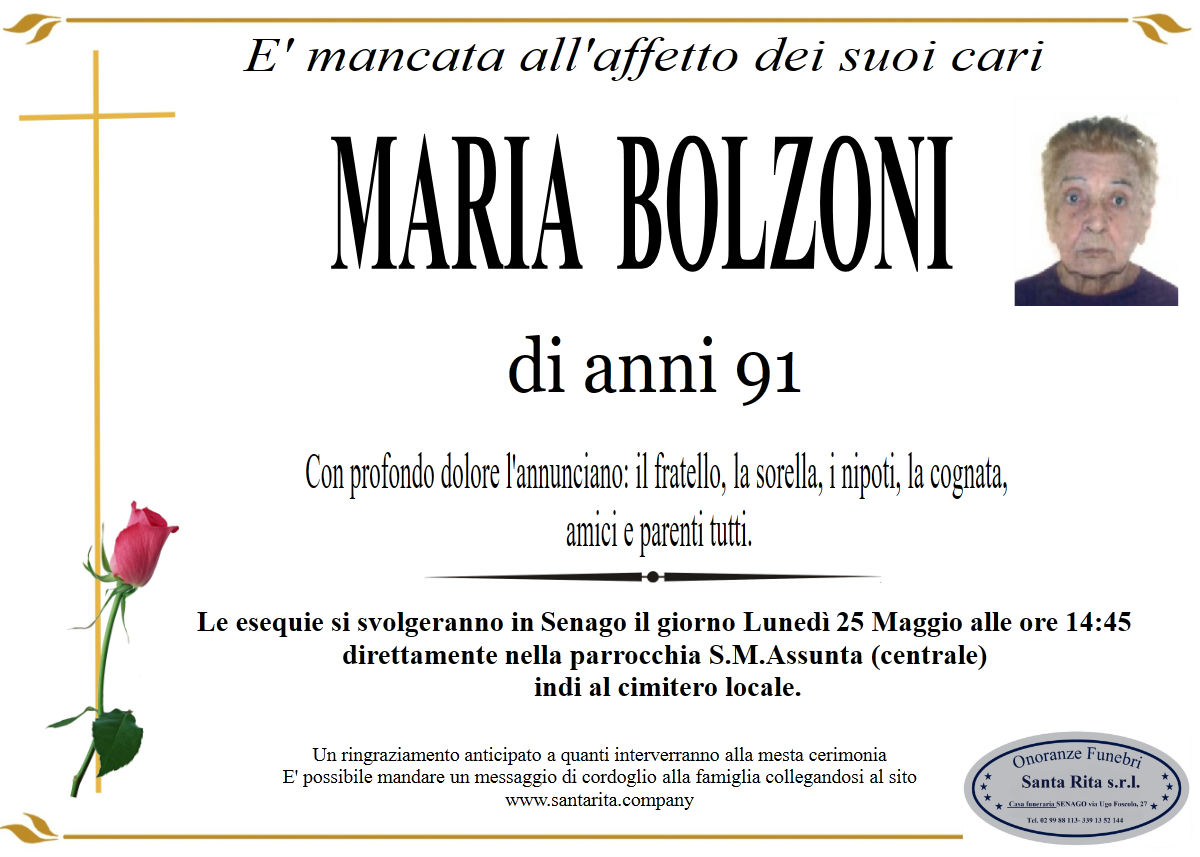 MARIA BOLZONI