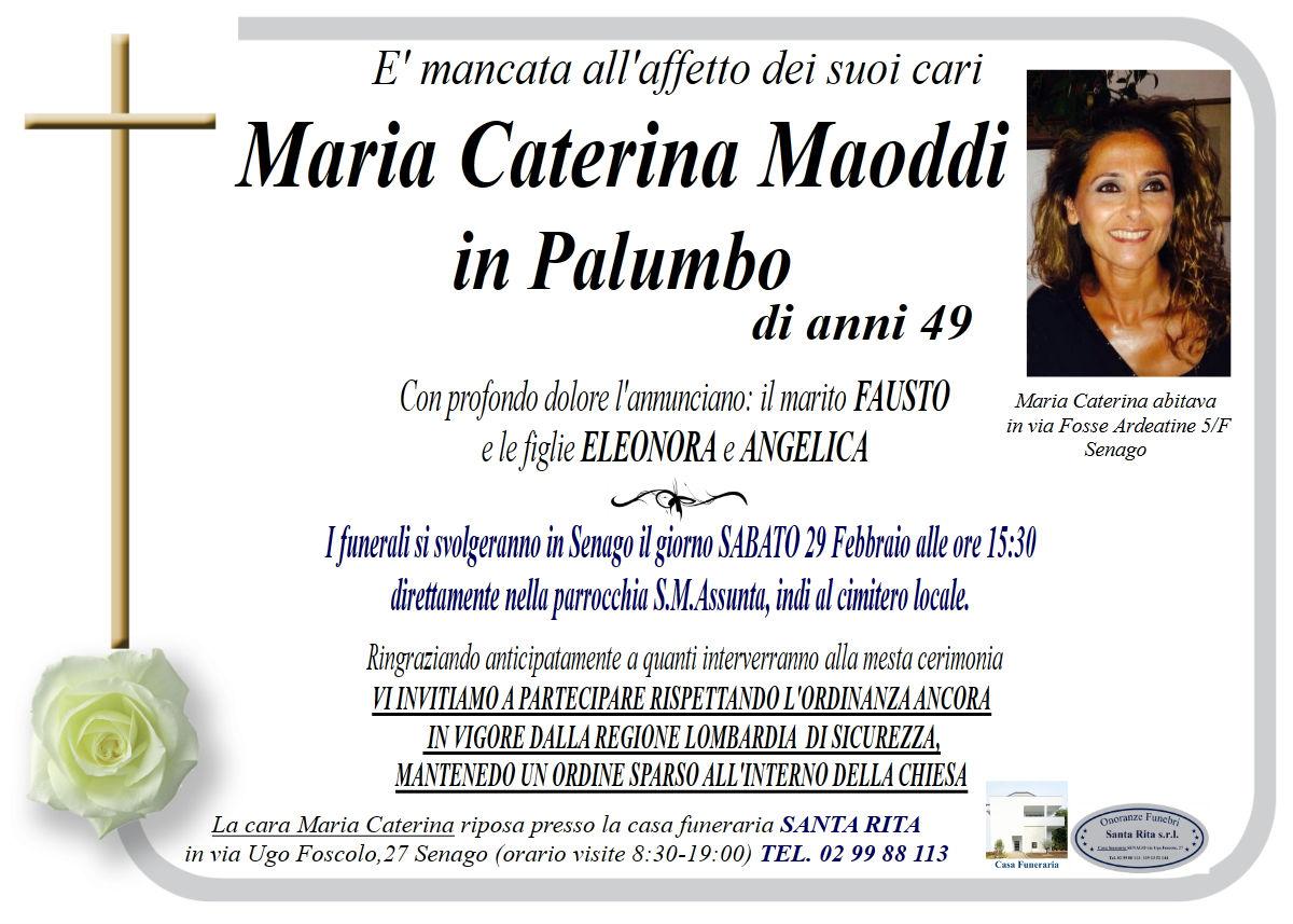 MARIA CATERINA MAODDI