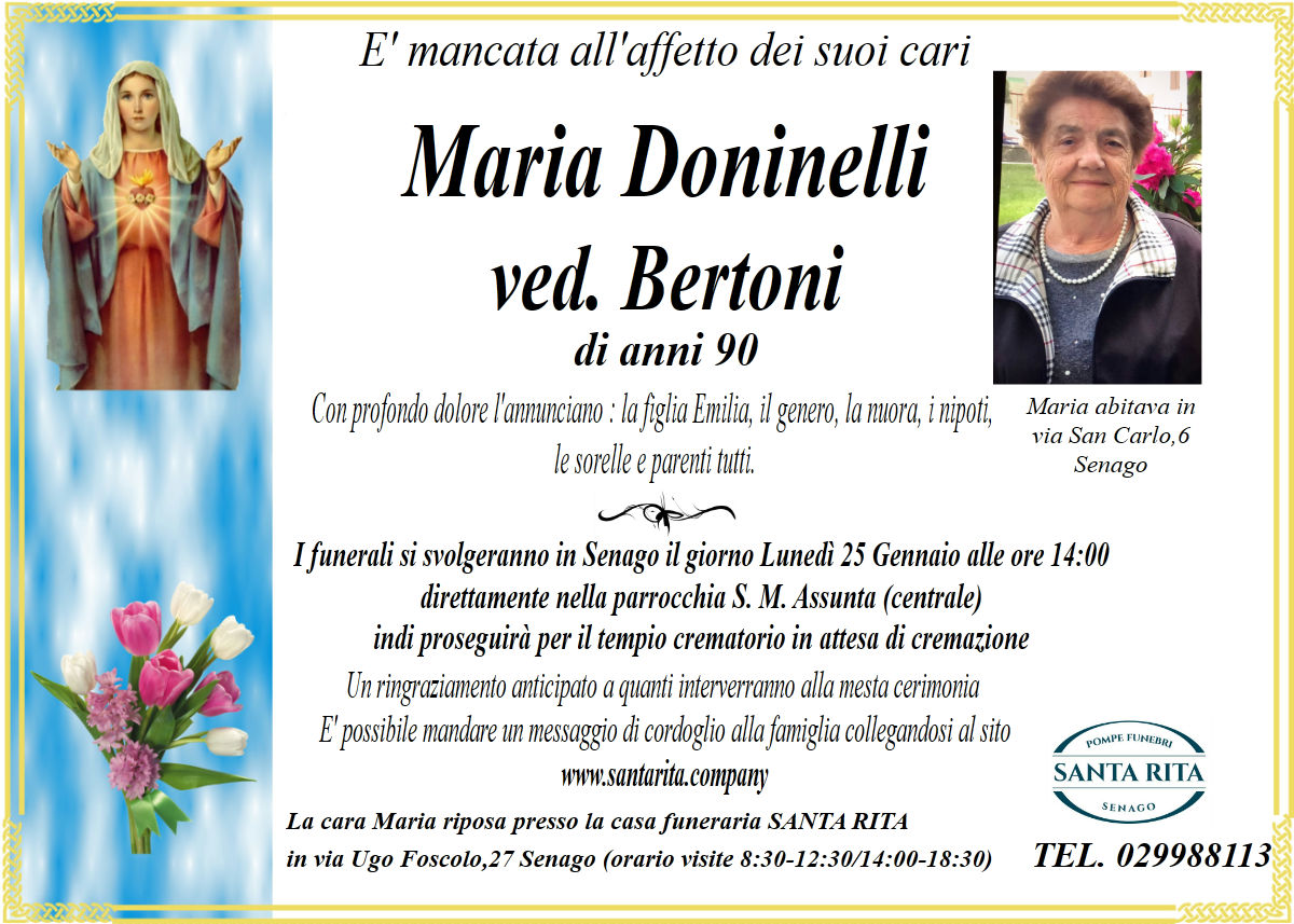 MARIA DONINELLI