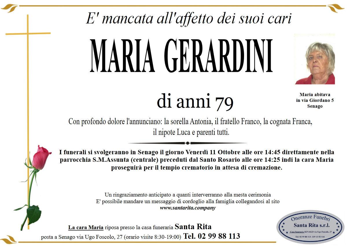 MARIA GERARDINI