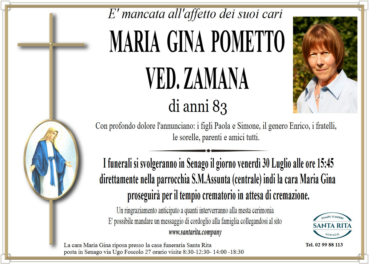 MARIA GINA POMETTO