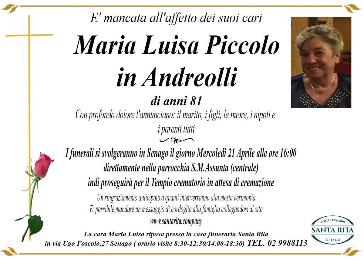 MARIA LUISA PICCOLO