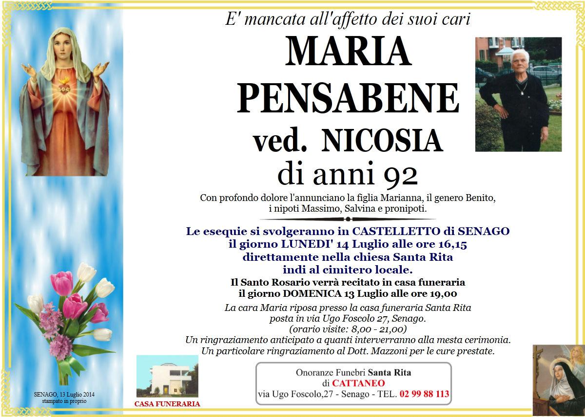 Maria Pensabene