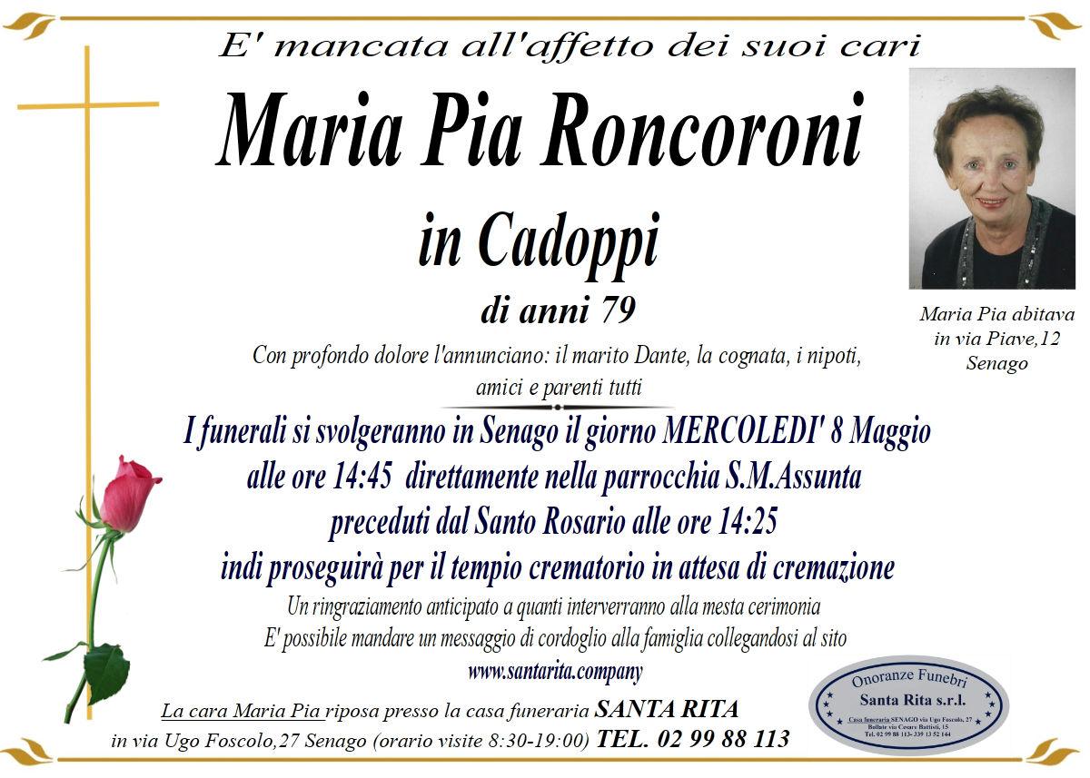 MARIA PIA  RONCORONI