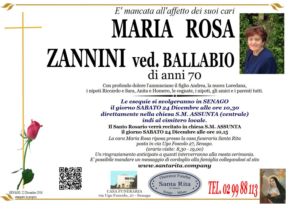 Maria Rosa Zannini