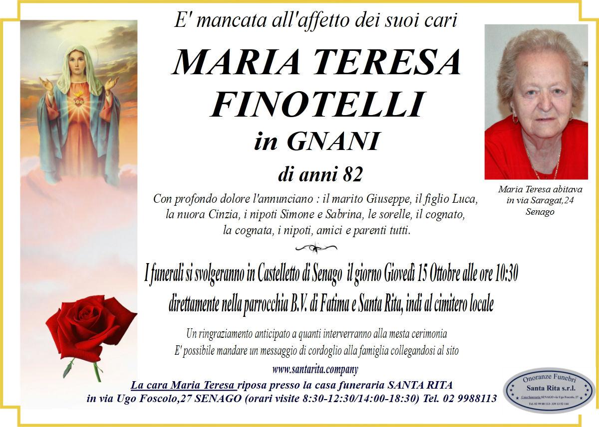 MARIA TERESA FINOTELLI