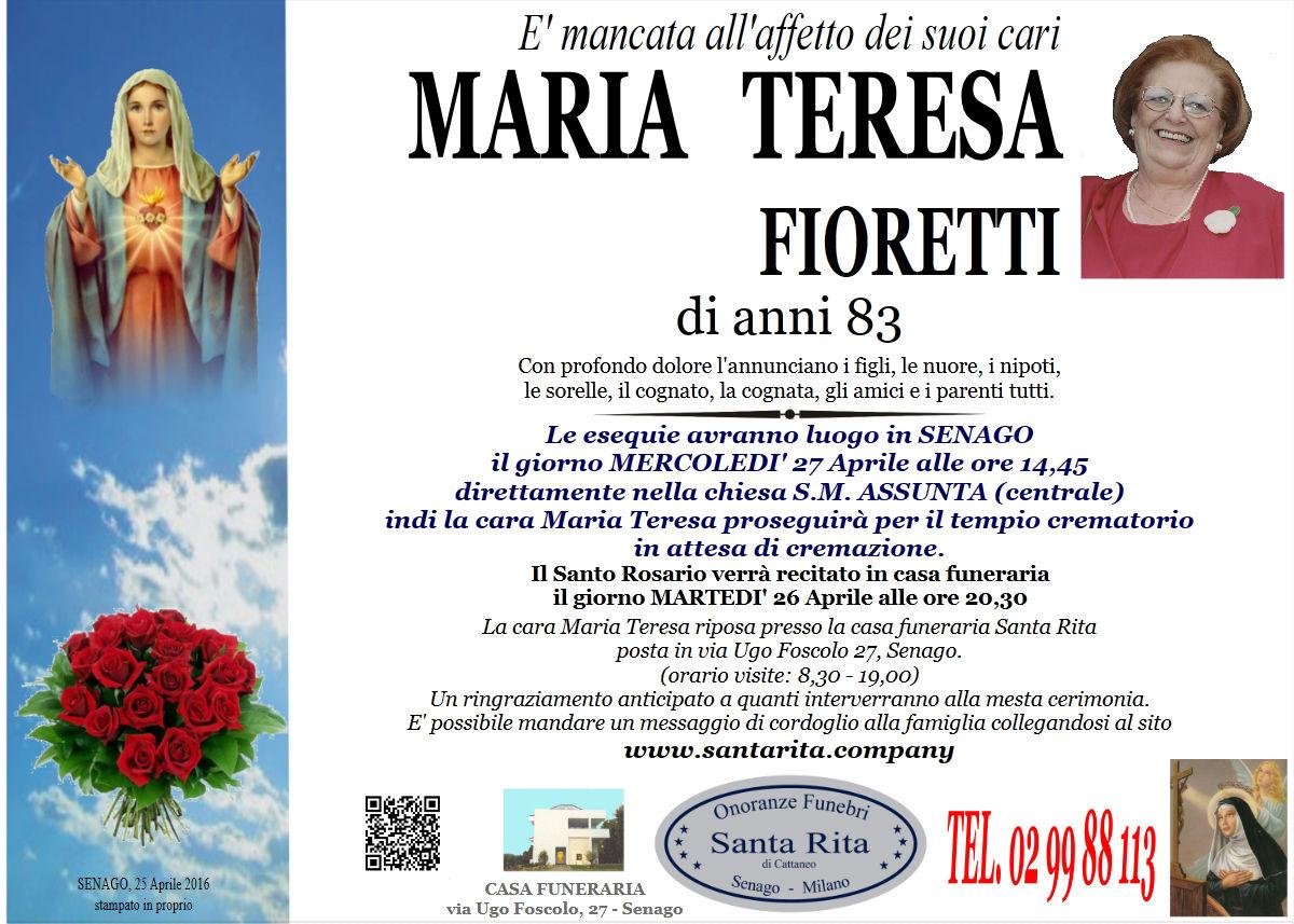 Maria Teresa Fioretti