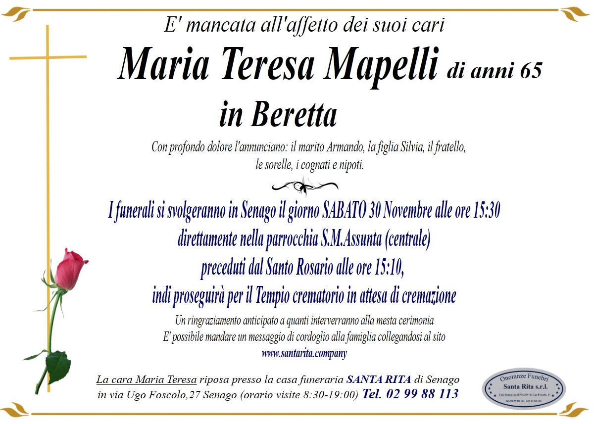 MARIA TERESA MAPELLI