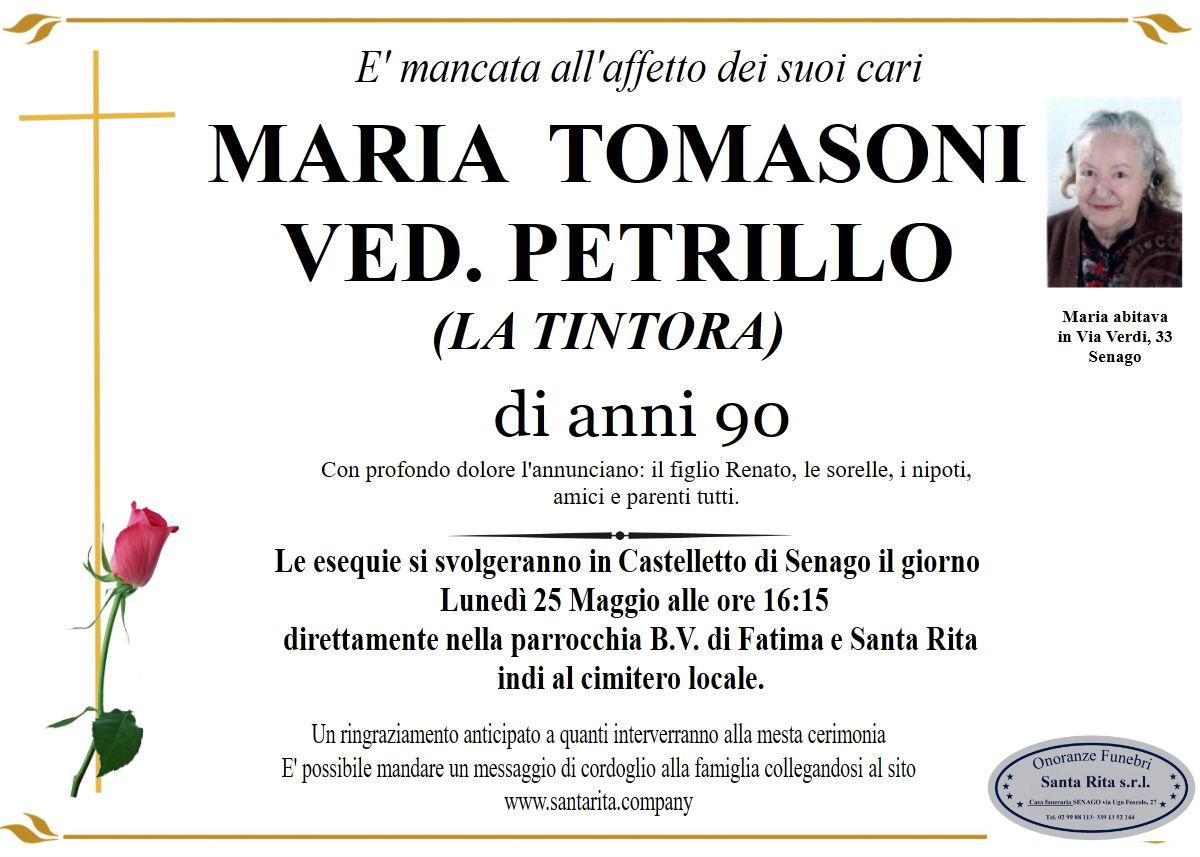 MARIA TOMASONI