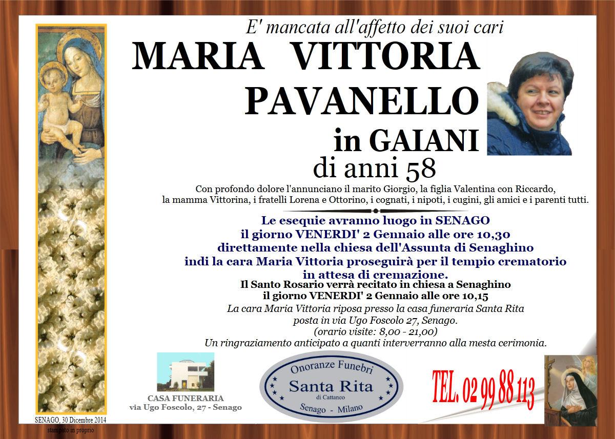 Maria Vittoria Pavanello