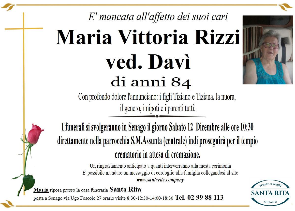 MARIA VITTORIA RIZZI