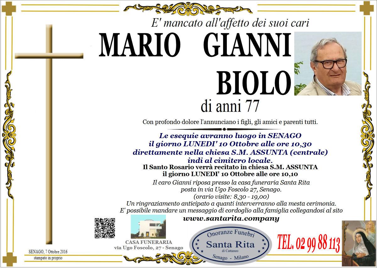Mario Gianni Biolo