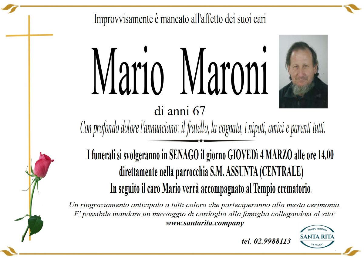MARIO MARONI