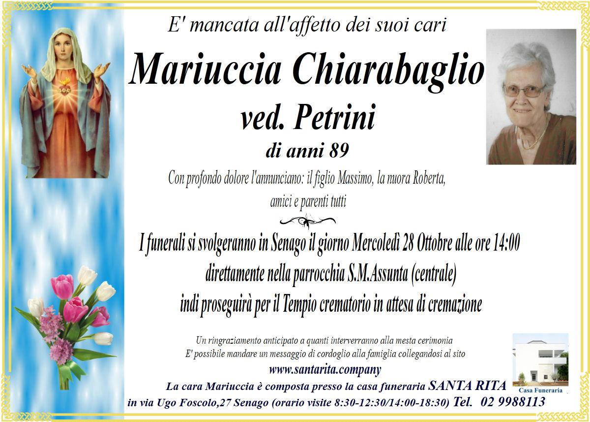 CHIARABAGLIO MARIA PAOLA