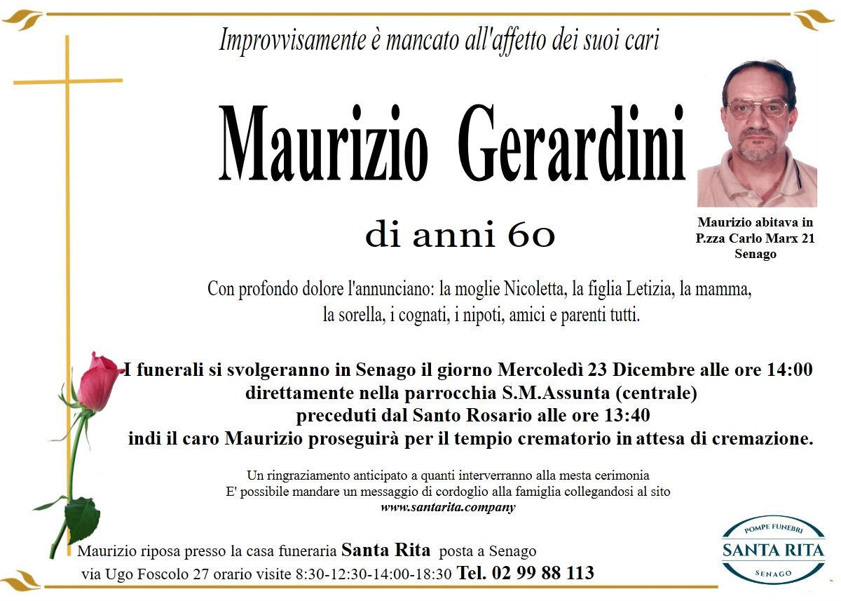 MAURIZIO GERARDINI