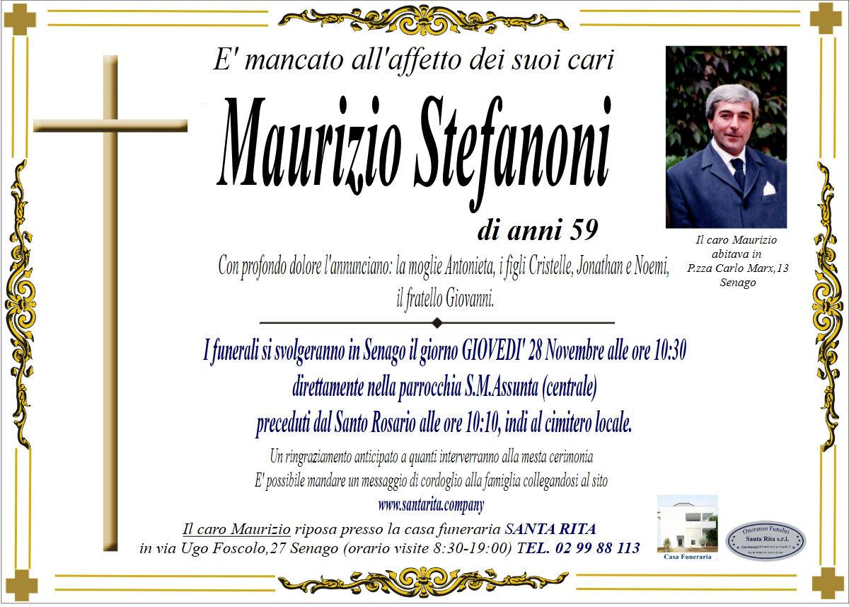 MAURIZIO STEFANONI