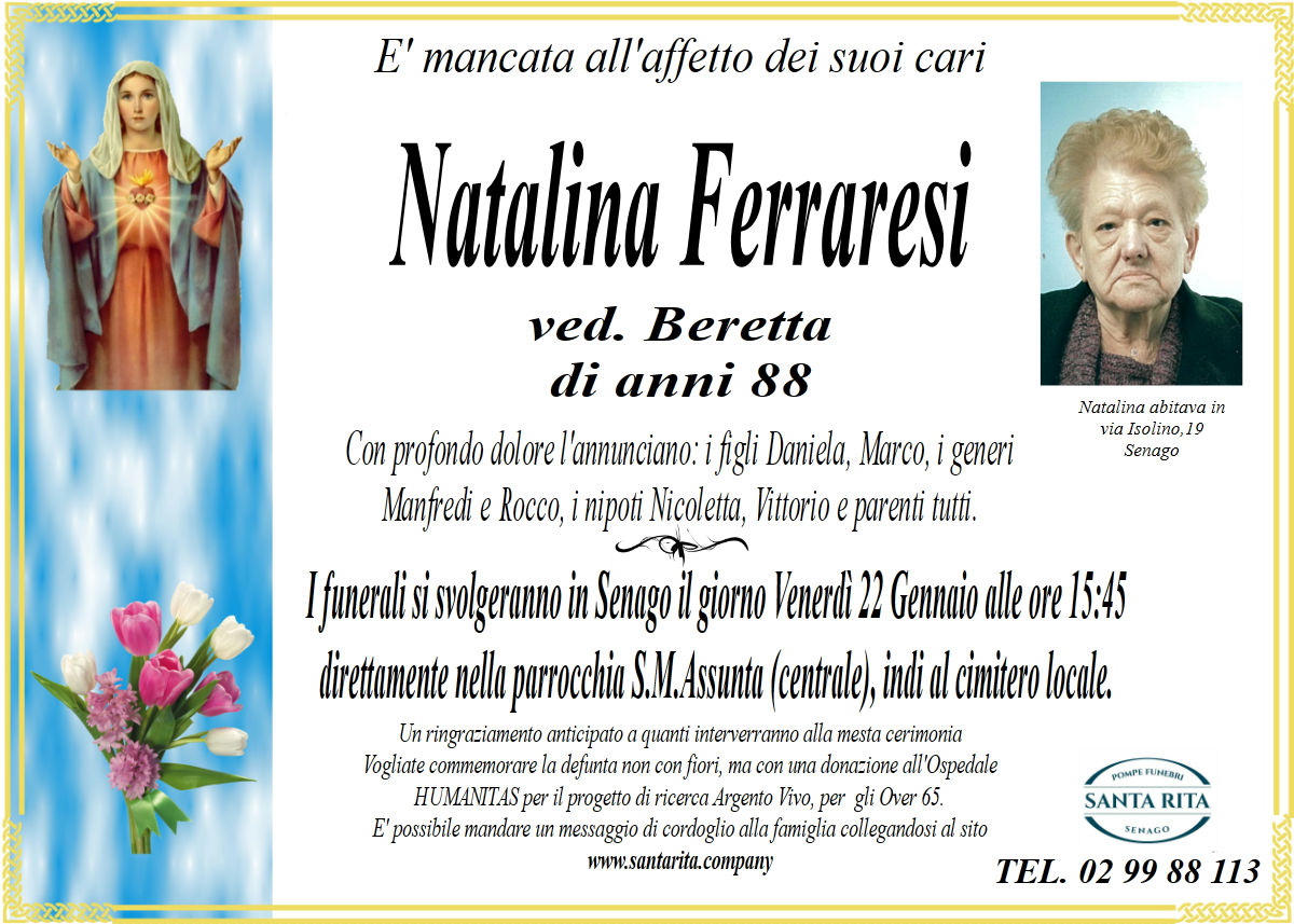 NATALINA FERRARESI