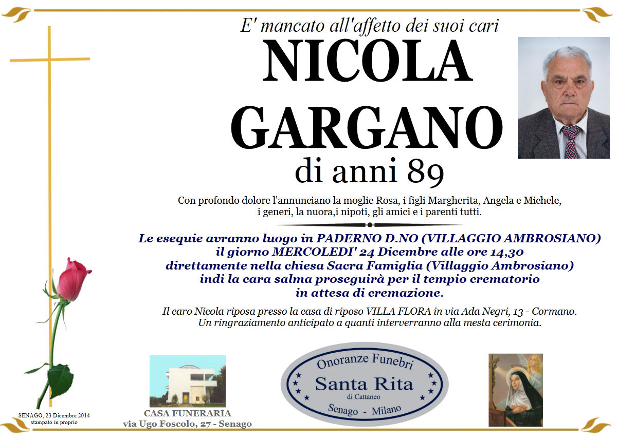 Nicola Gargano