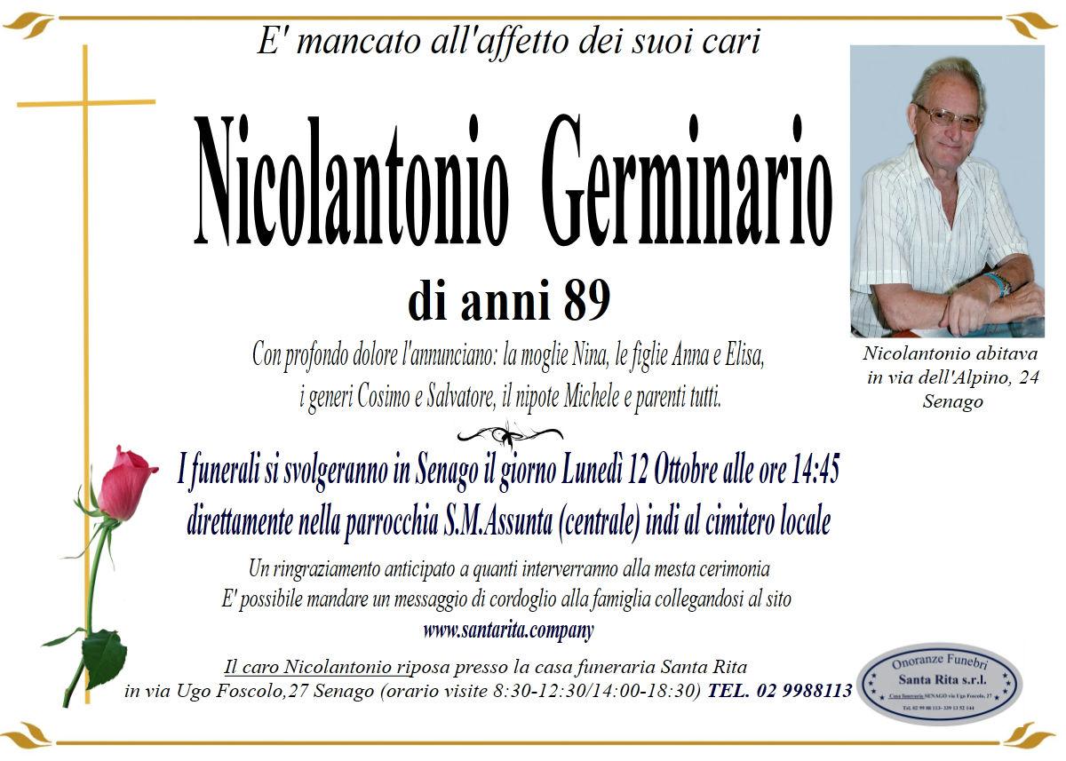 NICOLANTONIO GERMINARIO