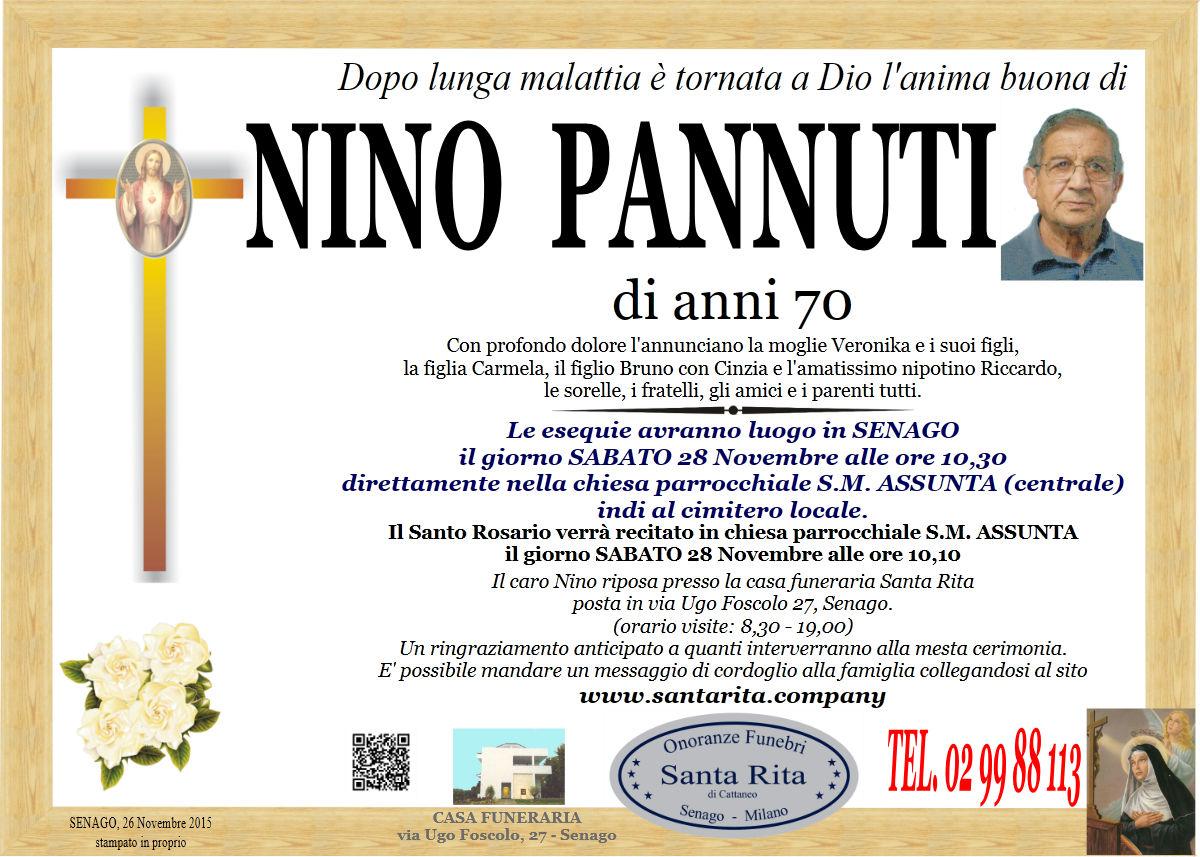 """Antonino """"Nino"""" Pannuti"""