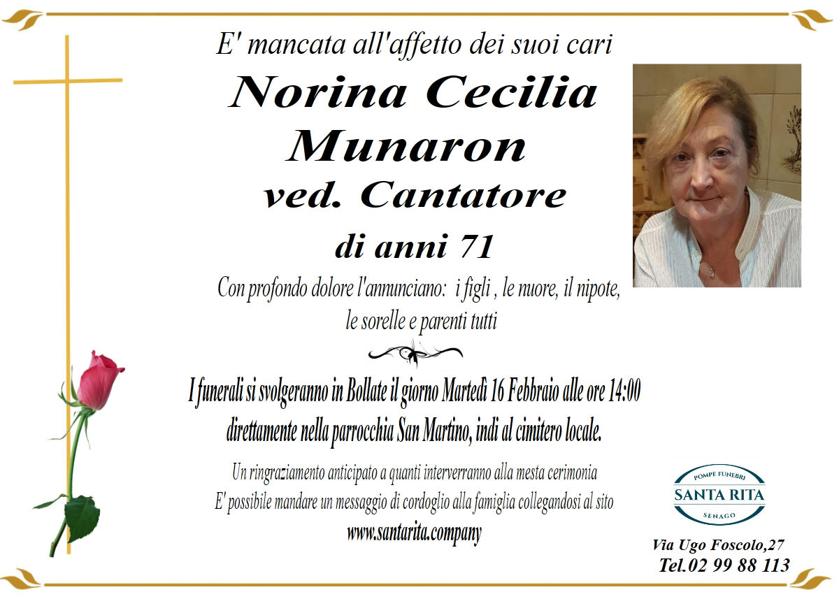 NORINA CECILIA MUNARON