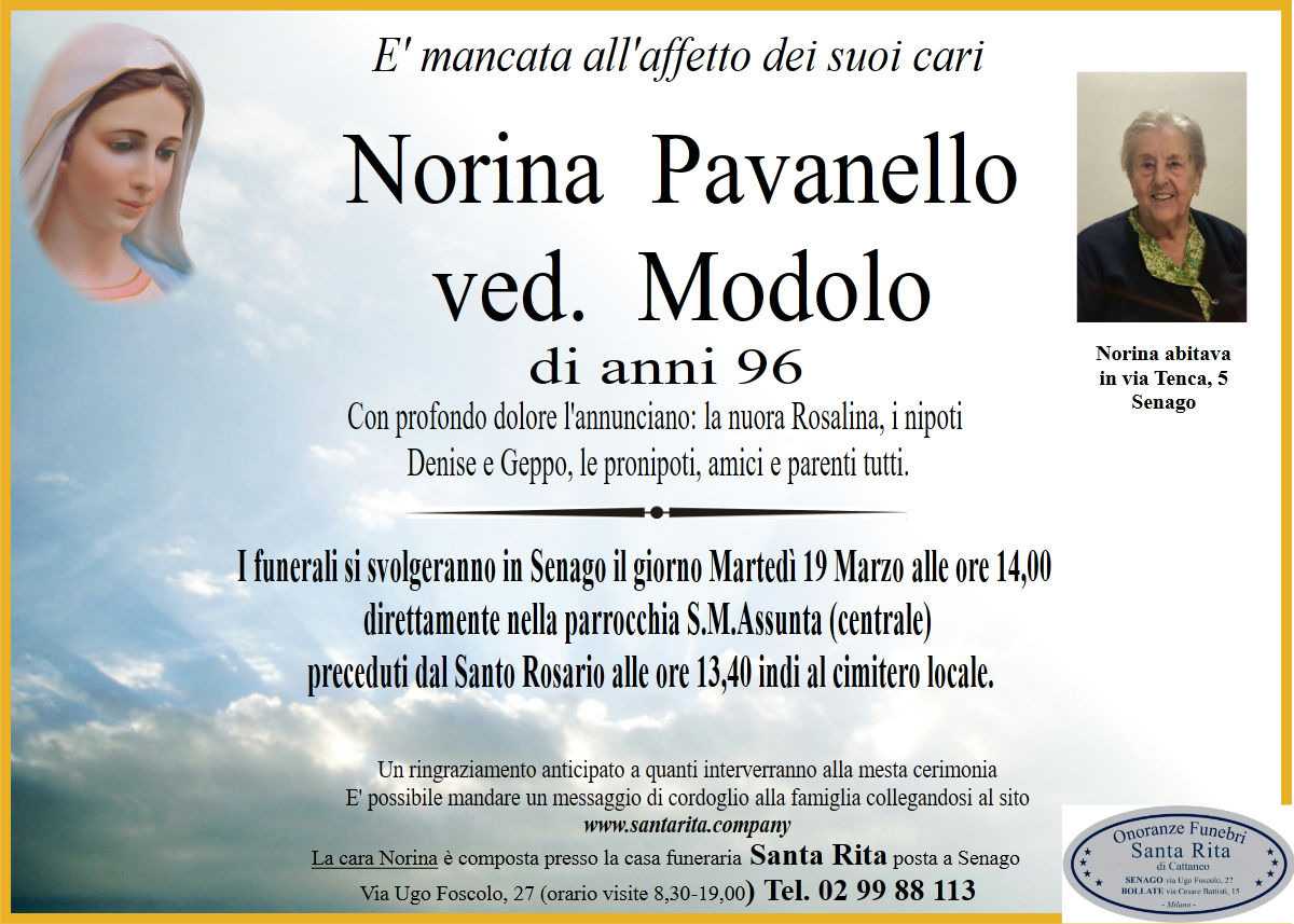 NORINA PAVANELLO