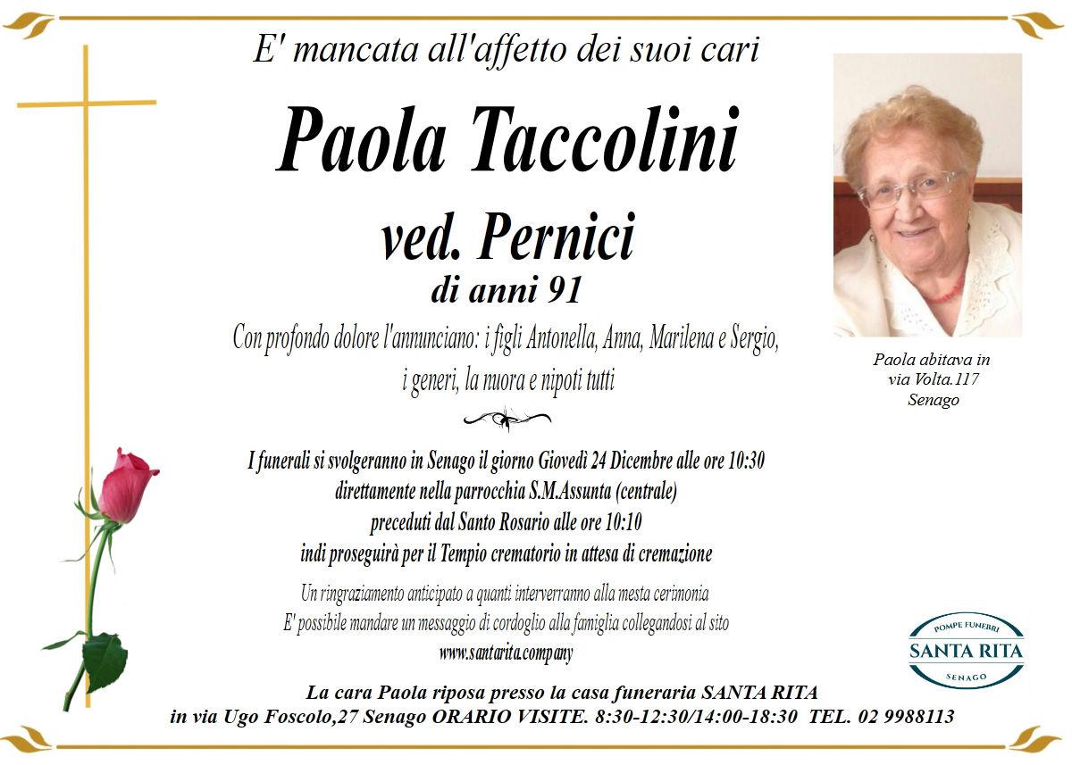 PAOLA TACCOLINI