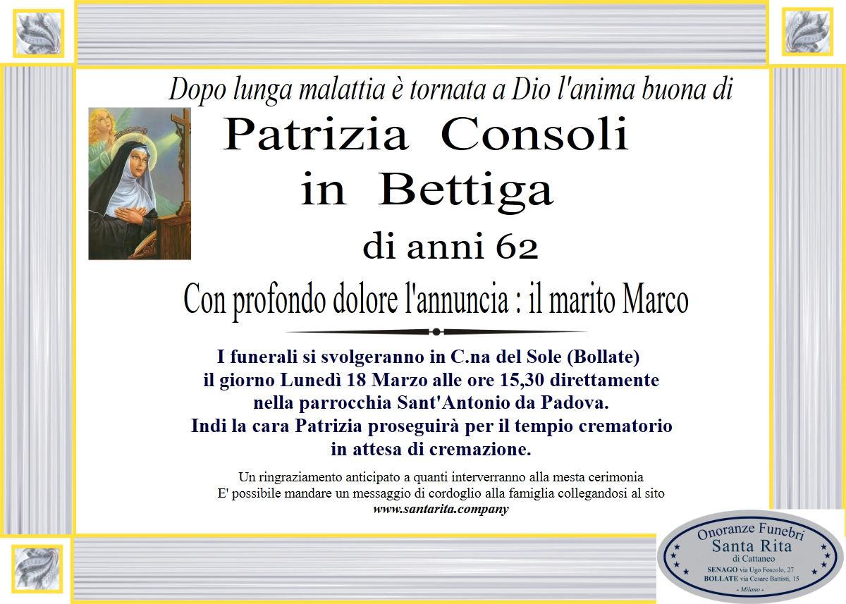PATRIZIA CONSOLI