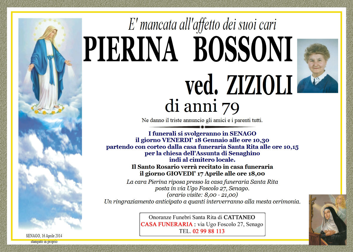 Pierina Bossoni