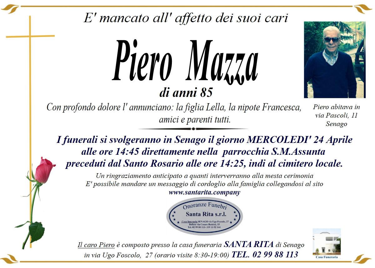 PIERO MAZZA