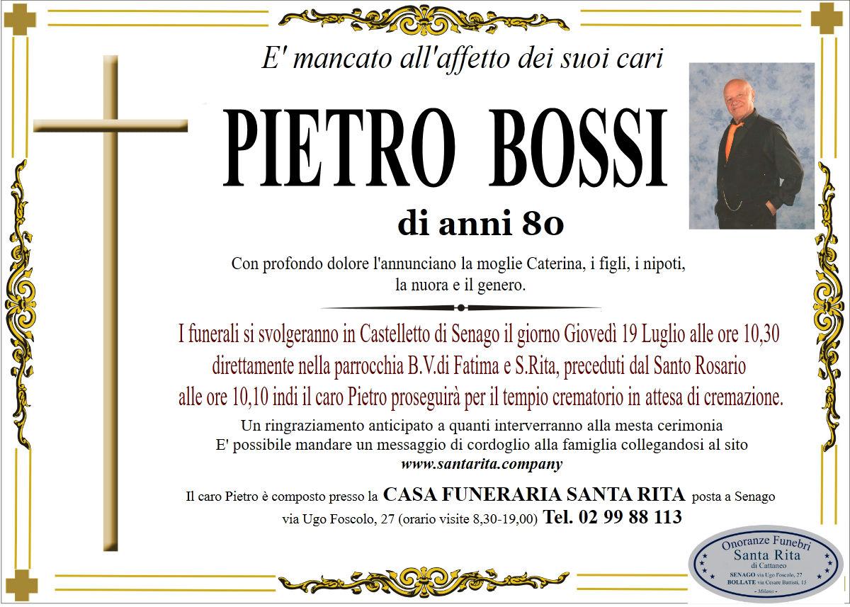 Pietro Bossi