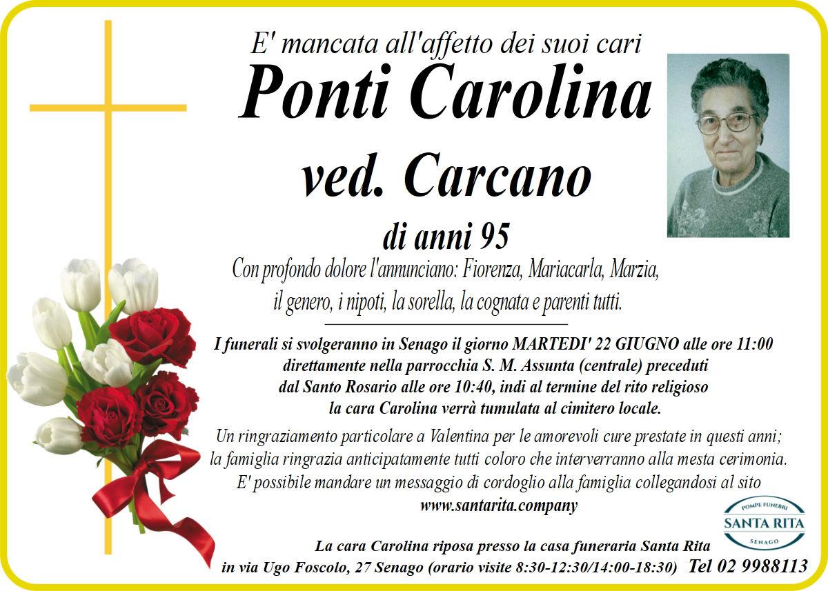 CAROLINA PONTI