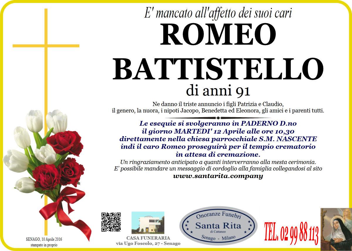 Romeo Battistello