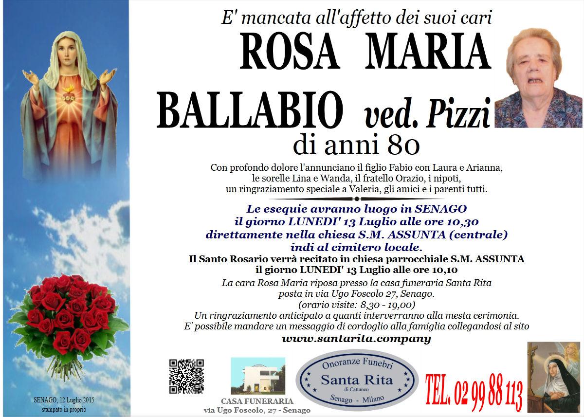 Rosa Maria Ballabio