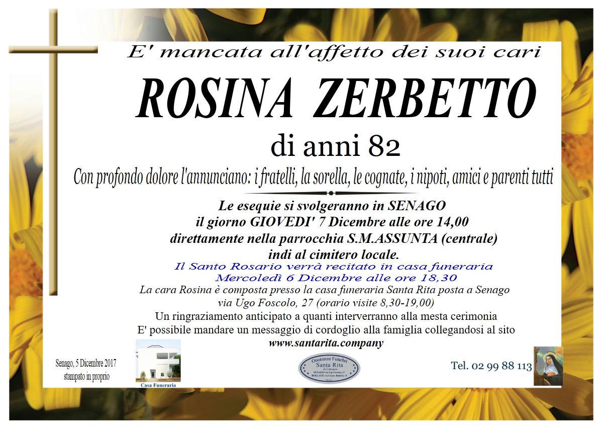 Rosina Zerbetto