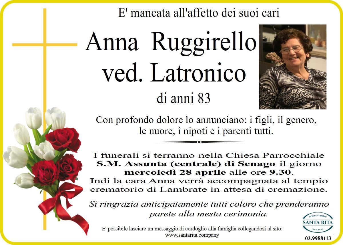 ANNA RUGGIRELLO