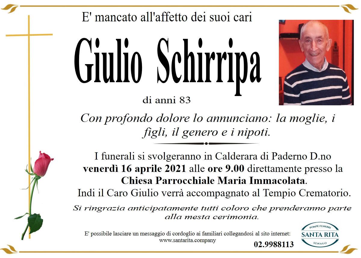 GIULIO SCHIRRIPA