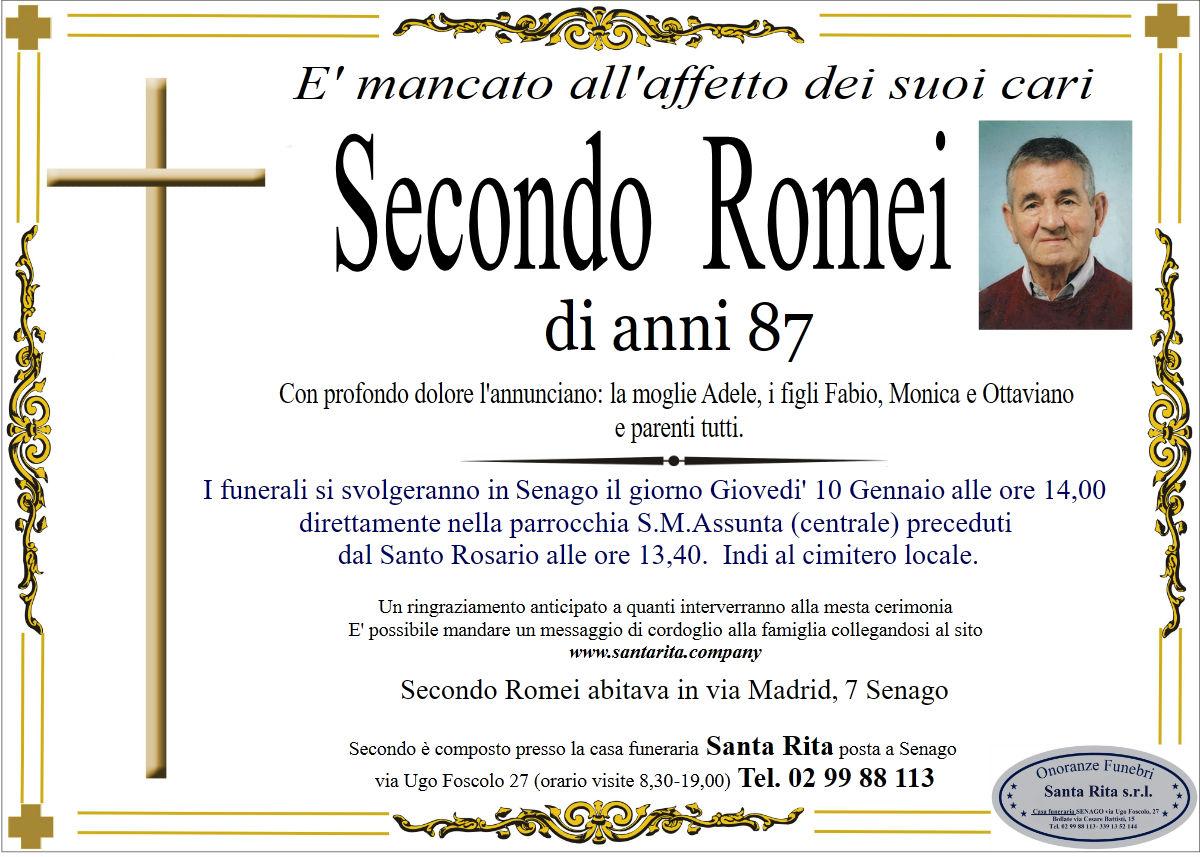 SECONDO ROMEI