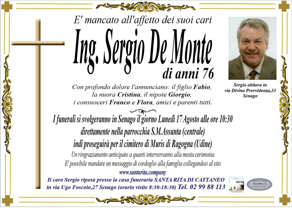 SERGIO DE MONTE