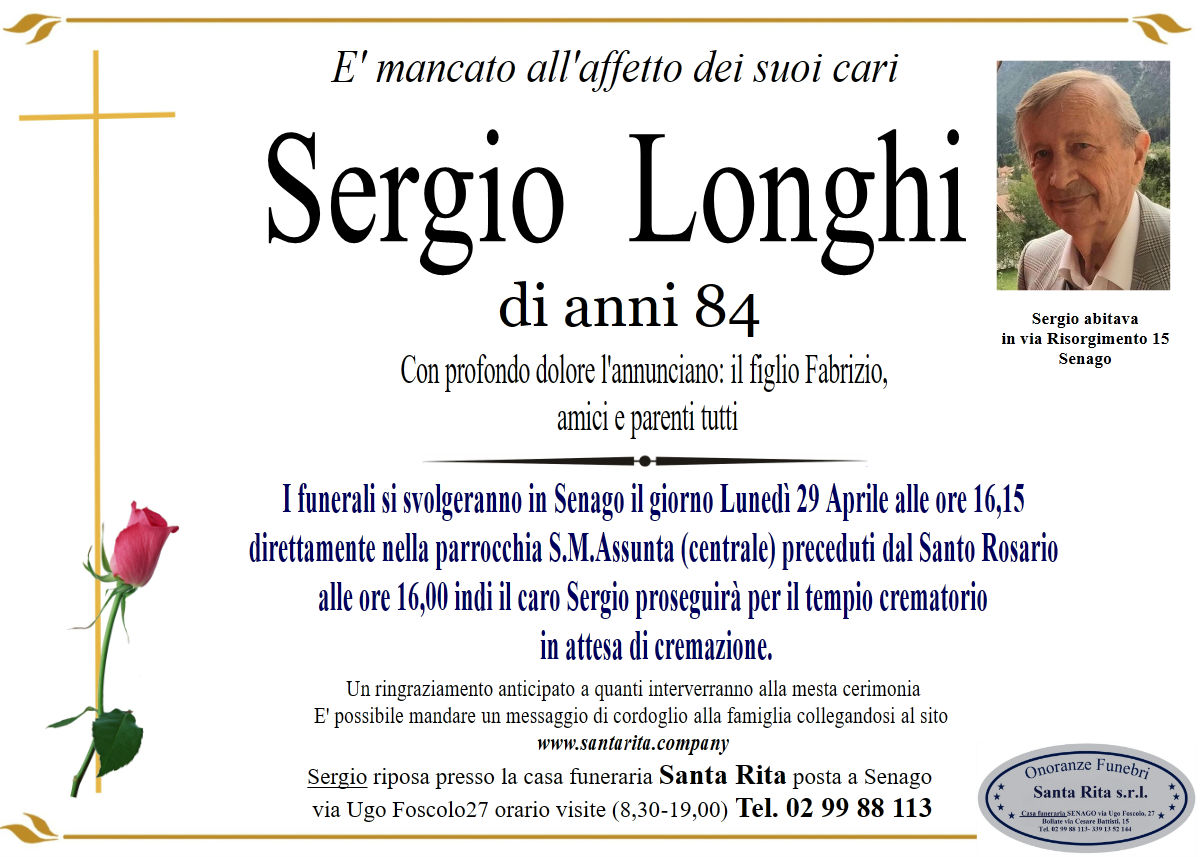 SERGIO LONGHI