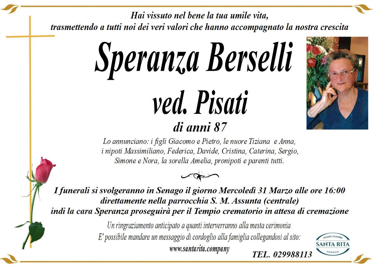 SPERANZA BERSELLI