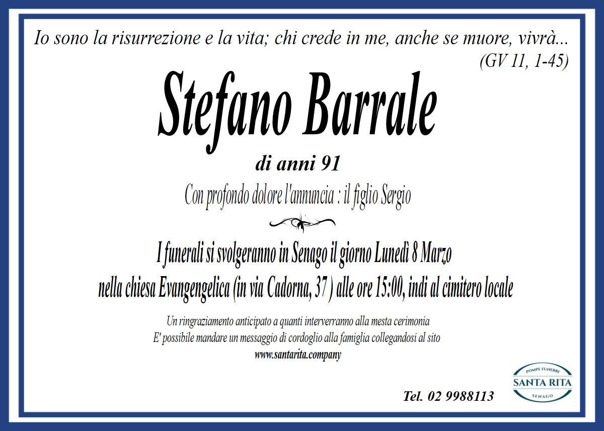STEFANO BARRALE