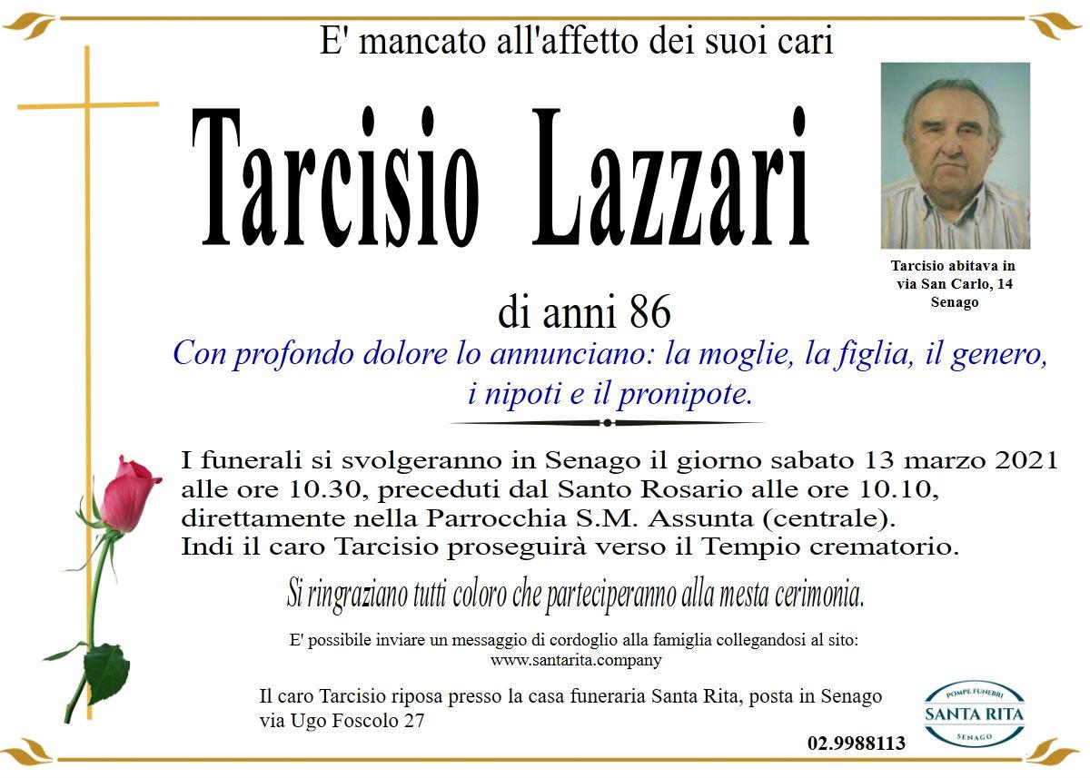 TARCISIO LAZZARI