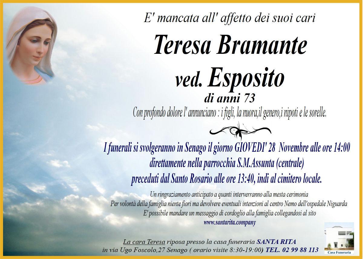 TERESA BRAMANTE